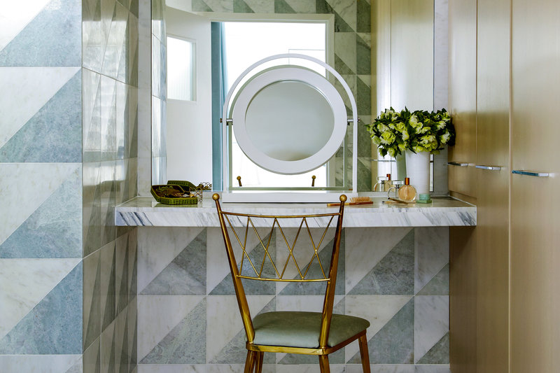 Avalon Hotel Beverly Hills-Guest Room - Vanity Table<br/>Image from Leonardo