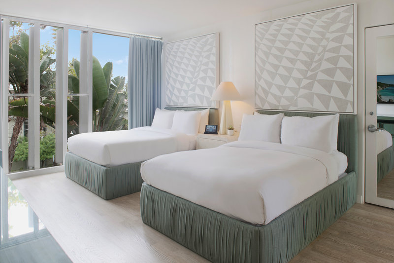 Avalon Hotel Beverly Hills-Double/Double Deluxe Guest Room<br/>Image from Leonardo