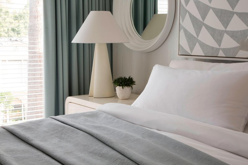 Avalon Hotel Beverly Hills-Guest Room Bed<br/>Image from Leonardo