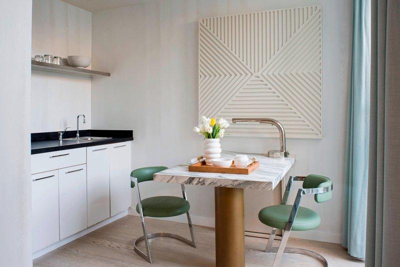 Avalon Hotel Beverly Hills-Canon Studio Kitchen<br/>Image from Leonardo