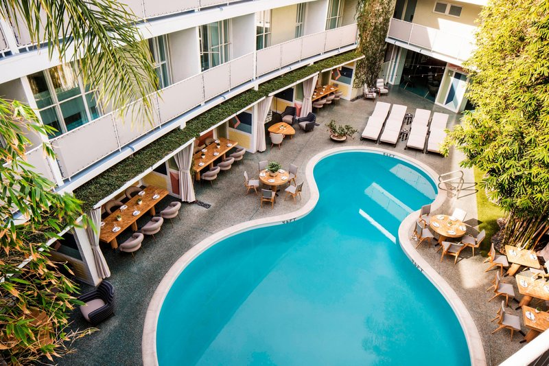Avalon Hotel Beverly Hills-Outdoor Pool<br/>Image from Leonardo