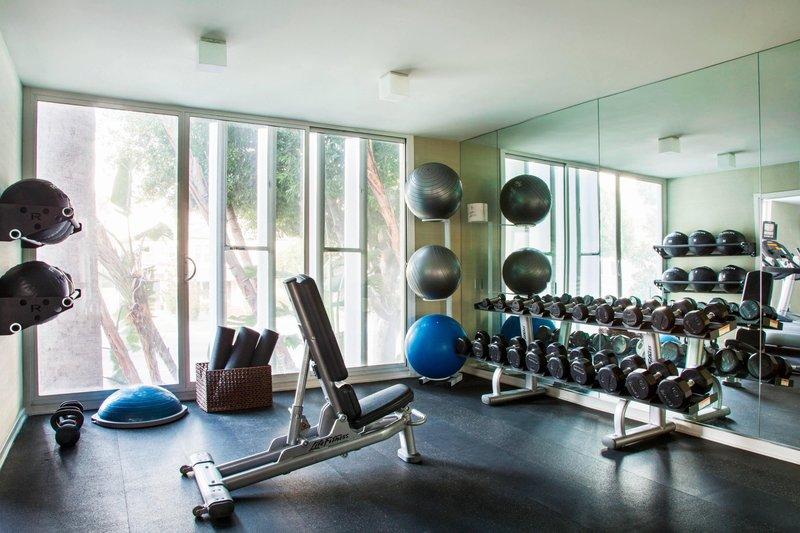 Avalon Hotel Beverly Hills-Fitness Studio Gym<br/>Image from Leonardo