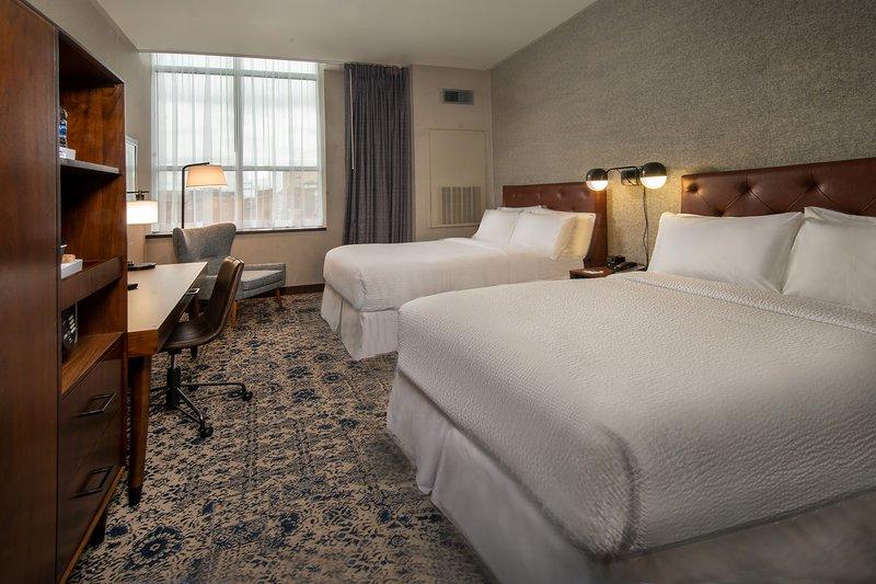 Four Points Philadelphia City Center-Double/Double Guest Room<br/>Image from Leonardo