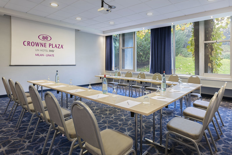 Crowne Plaza Milan - Linate-Meeting Room<br/>Image from Leonardo