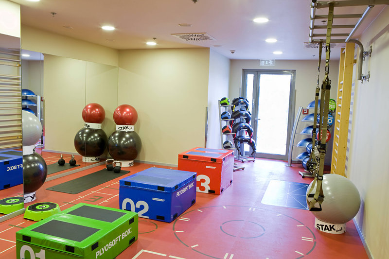 Budapest Marriott Hotel-Fitness and Health Club - Training Room<br/>Image from Leonardo