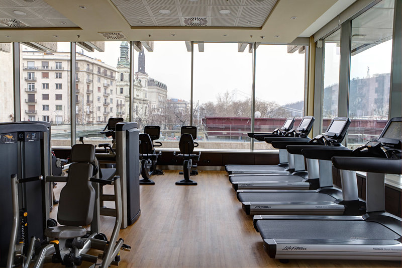 Budapest Marriott Hotel-Fitness and Health Club by Marriott - Workout room<br/>Image from Leonardo