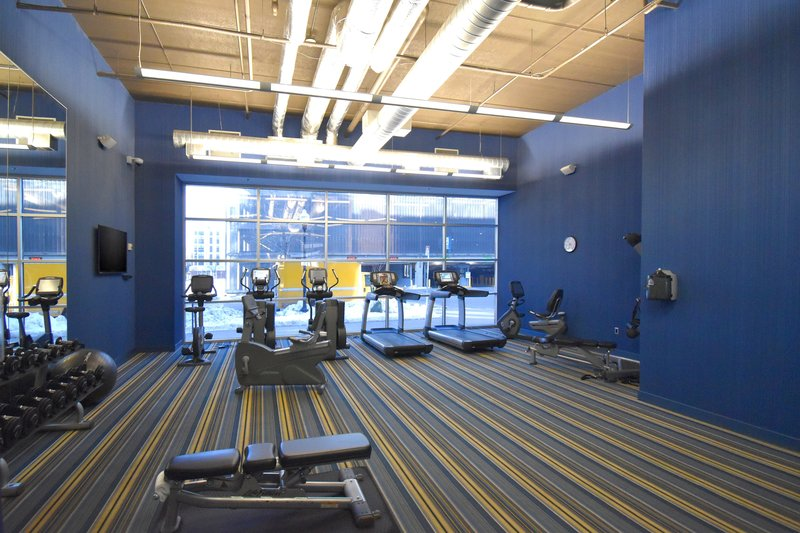 Aloft Minneapolis-re:charge(SM) gym<br/>Image from Leonardo
