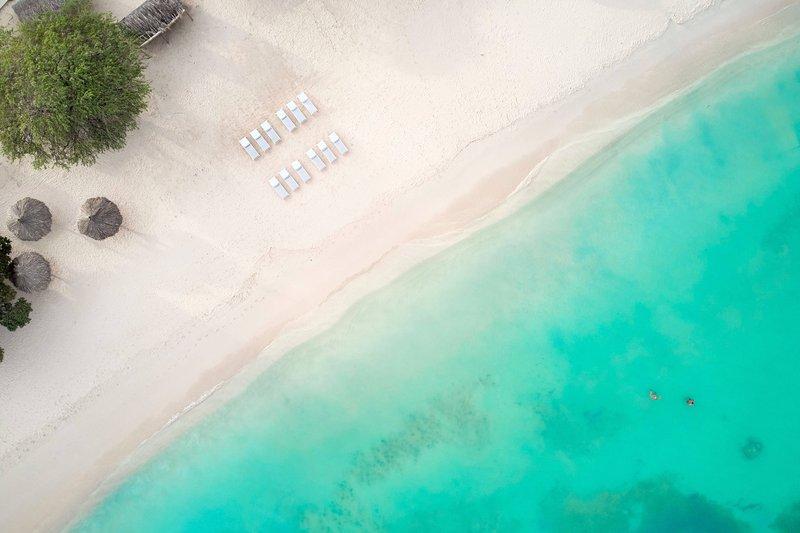 Courtyard Aruba Resort-Beach Aerial View<br/>Image from Leonardo