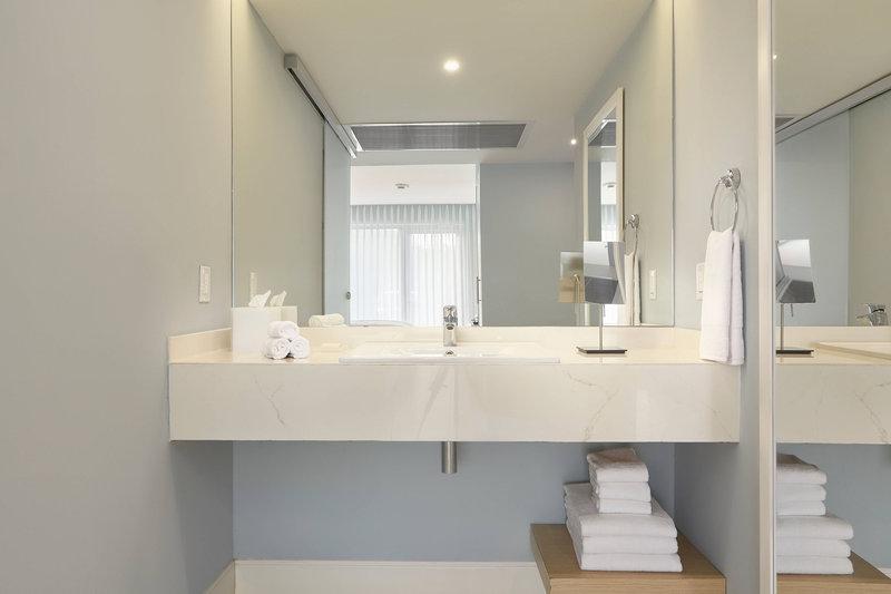 Courtyard Aruba Resort-Accessible Bathroom<br/>Image from Leonardo