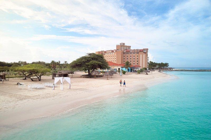 Courtyard Aruba Resort-Beach Area<br/>Image from Leonardo