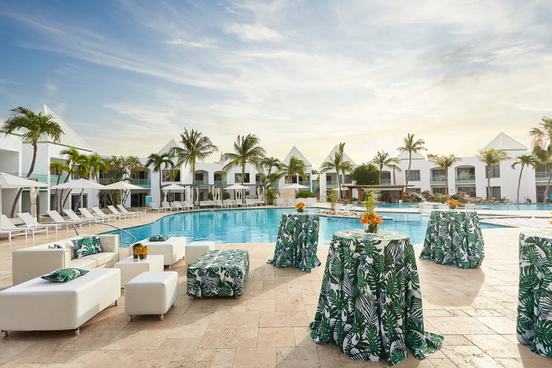 Courtyard Aruba Resort-Pool Event Setup<br/>Image from Leonardo