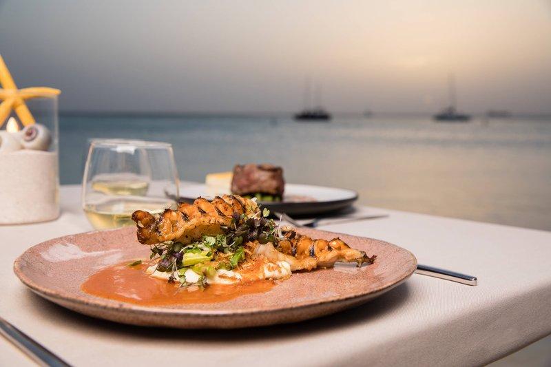 Aruba Marriott Resort - Atardi - Seafood <br/>Image from Leonardo