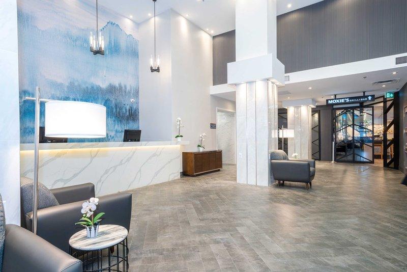 Sandman Hotel Calgary City Ctr-Front Desk<br/>Image from Leonardo