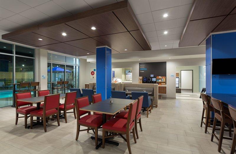 Holiday Inn Express Lake Park-Guest Breakfast Area<br/>Image from Leonardo