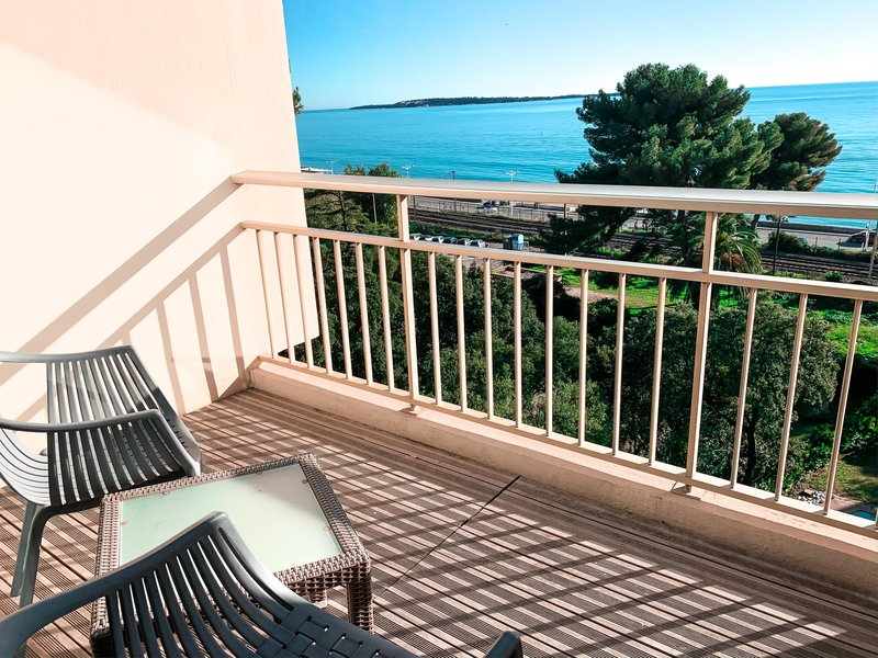 Holiday Inn Cannes-View from Room<br/>Image from Leonardo