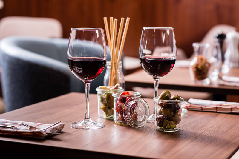 Budapest Marriott Hotel-Liz and Chain - Wine and Tapas<br/>Image from Leonardo