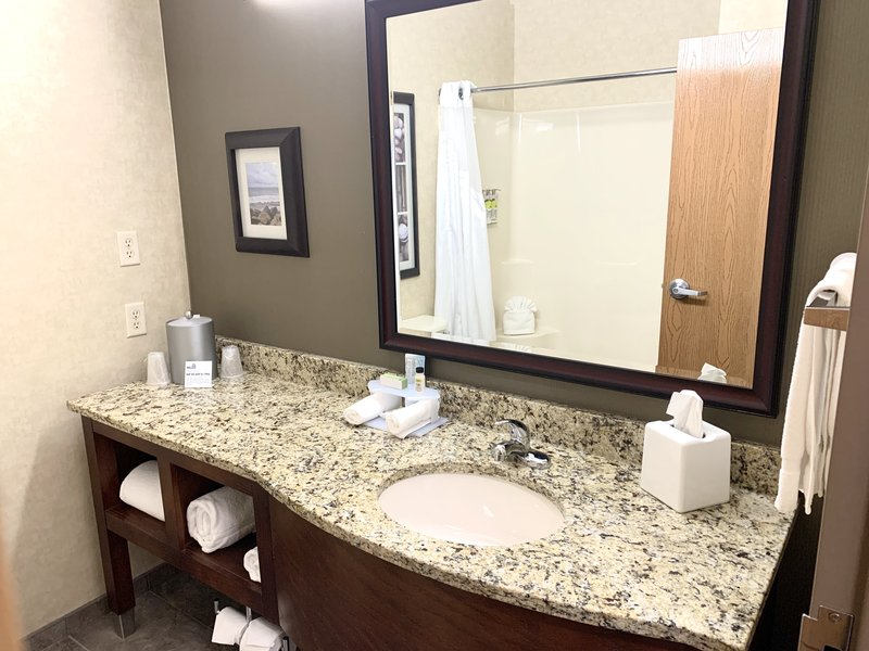 Holiday Inn Express Holland-Bathroom Vanity<br/>Image from Leonardo