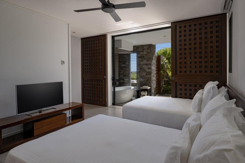 InterContinental Fiji Golf Resort & Spa - Natadola Suite - Second Bedroom <br/>Image from Leonardo