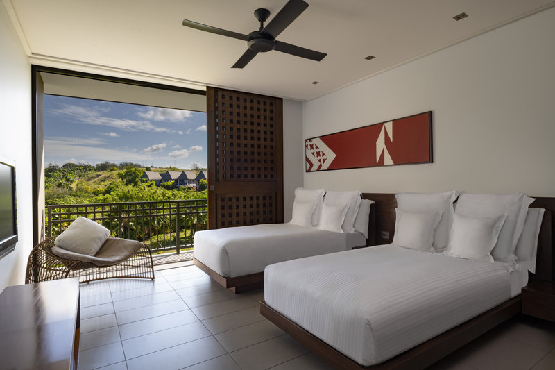 InterContinental Fiji Golf Resort & Spa-Club Two Bedroom Suite - twin bed room<br/>Image from Leonardo