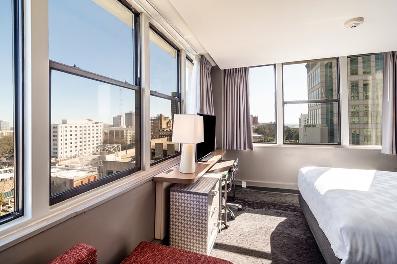 Holiday Inn Columbia Downtown-Executive King with views of Columbia's Skyline<br/>Image from Leonardo