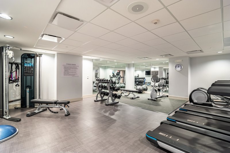 Holiday Inn Columbia Downtown-Fitness Center with Cardio Machines and Free Wieghts<br/>Image from Leonardo