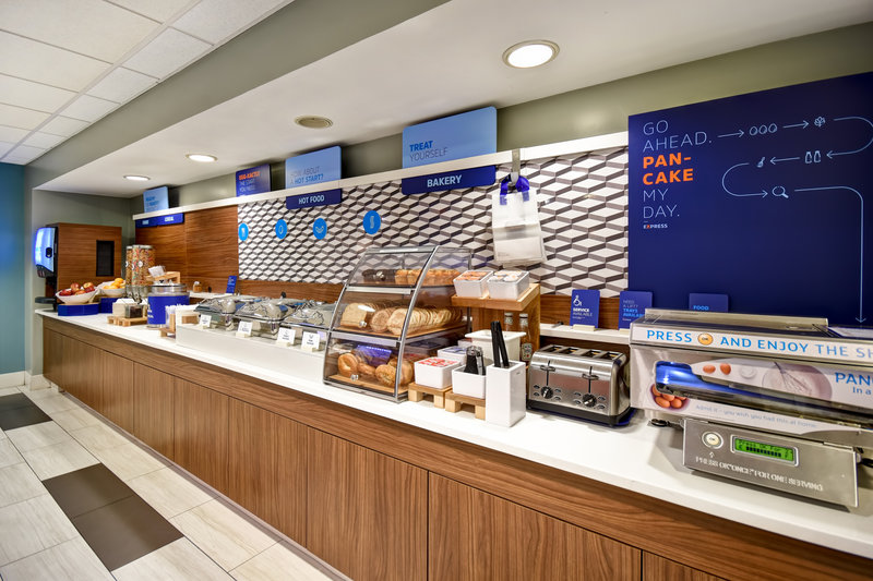 Holiday Inn Express Middletown/Newport-Breakfast Bar<br/>Image from Leonardo