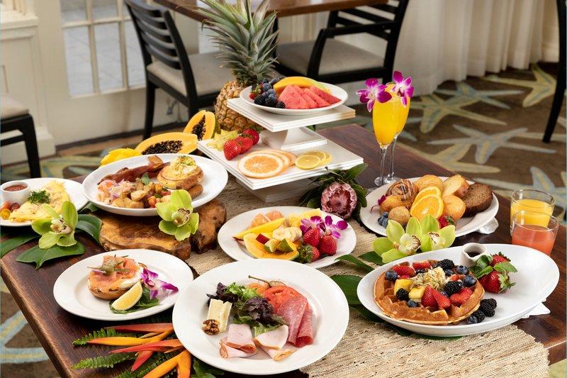 Moana Surfrider, A Westin Resort & Spa, Waikiki Beach - veranda at the beachhouse - Food <br/>Image from Leonardo