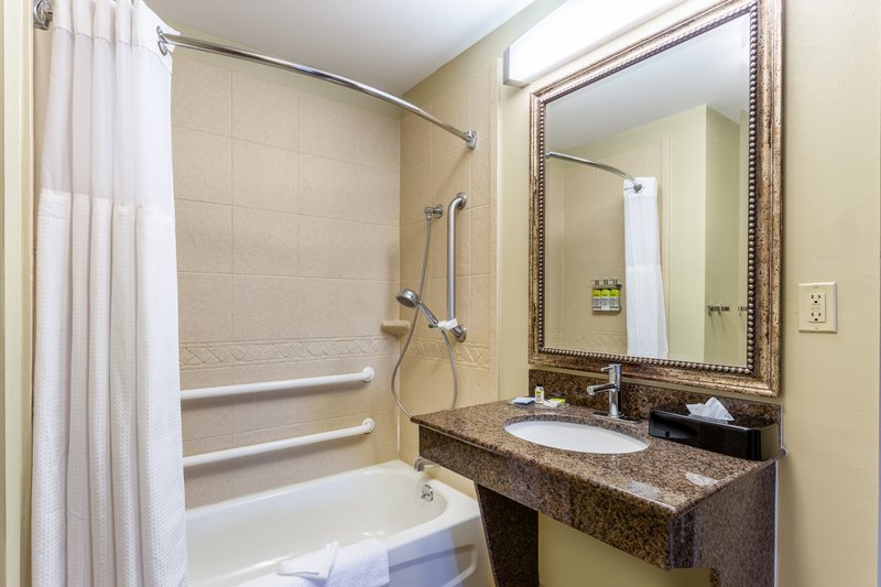 Staybridge Suites Davenport-Guest Bathroom <br/>Image from Leonardo