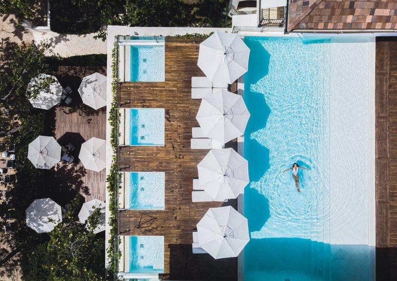 Casa Colonial Beach & Spa-Pool Aerial<br/>Image from Leonardo
