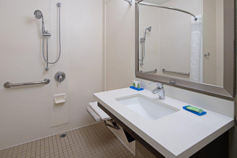 Holiday Inn Express Hotel & Suites Santa Clarita-Guest Bathroom <br/>Image from Leonardo