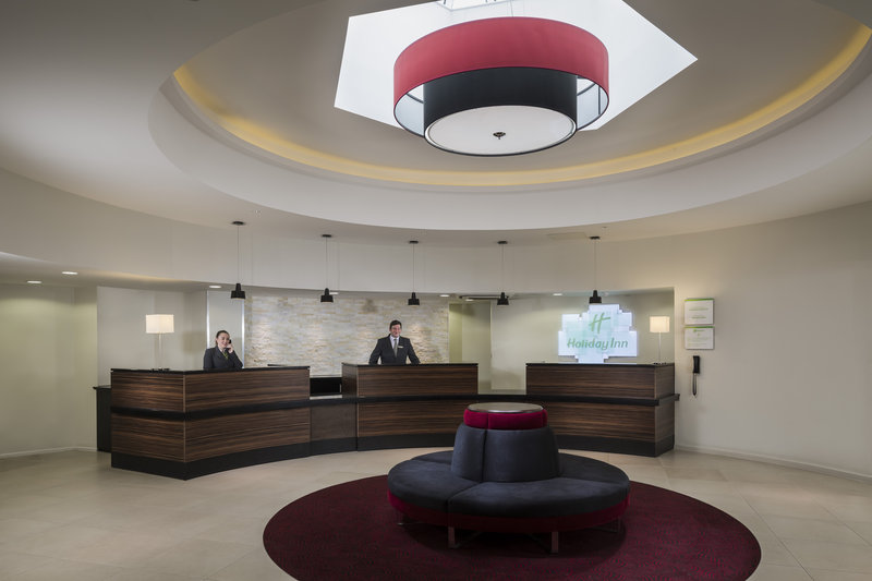 Holiday Inn London Gatwick - Worth-Front Desk<br/>Image from Leonardo