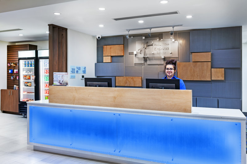 Holiday Inn Express And Suites Tulsa Northeast Owasso-Front Desk<br/>Image from Leonardo