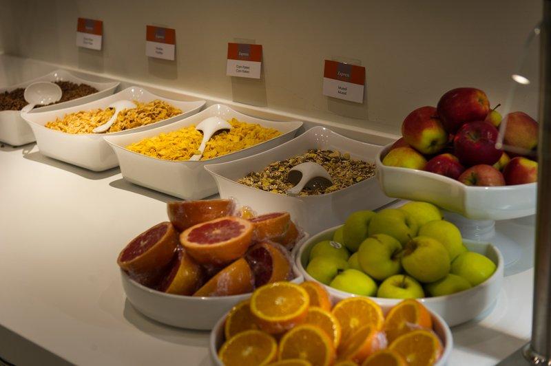 Holiday Inn Express Strasbourg - Centre-Continental buffet breakfast<br/>Image from Leonardo