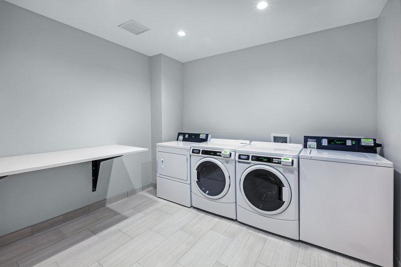 Holiday Inn Express And Suites Tulsa Northeast Owasso-Laundry Facility<br/>Image from Leonardo