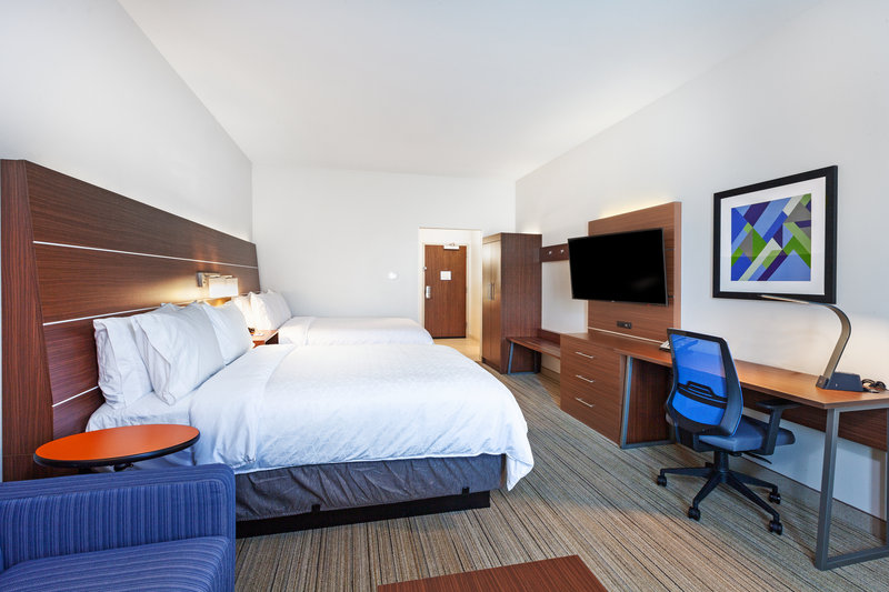 Holiday Inn Express And Suites Tulsa Northeast Owasso-Queen Bed Guest Room<br/>Image from Leonardo