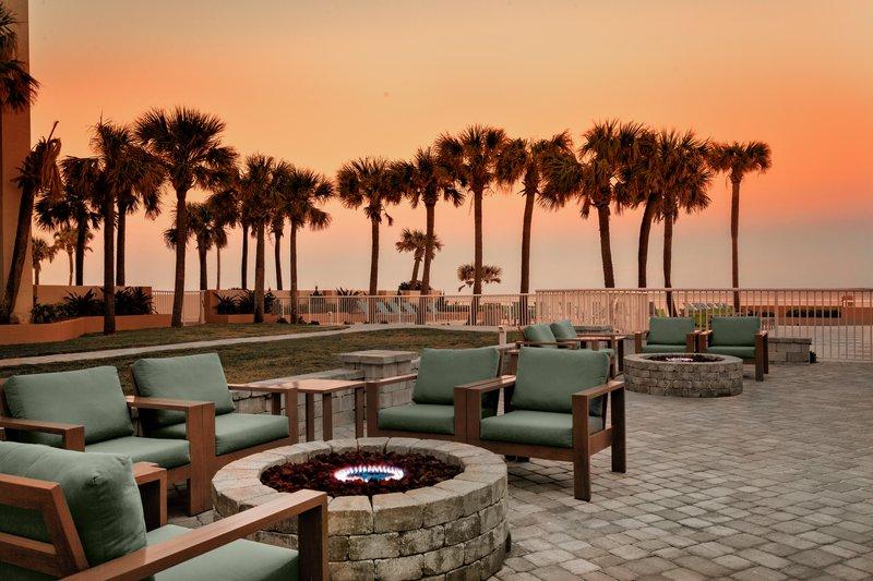 Holiday Inn Daytona Beach On The Ocean- FirePit / Guest Patio<br/>Image from Leonardo