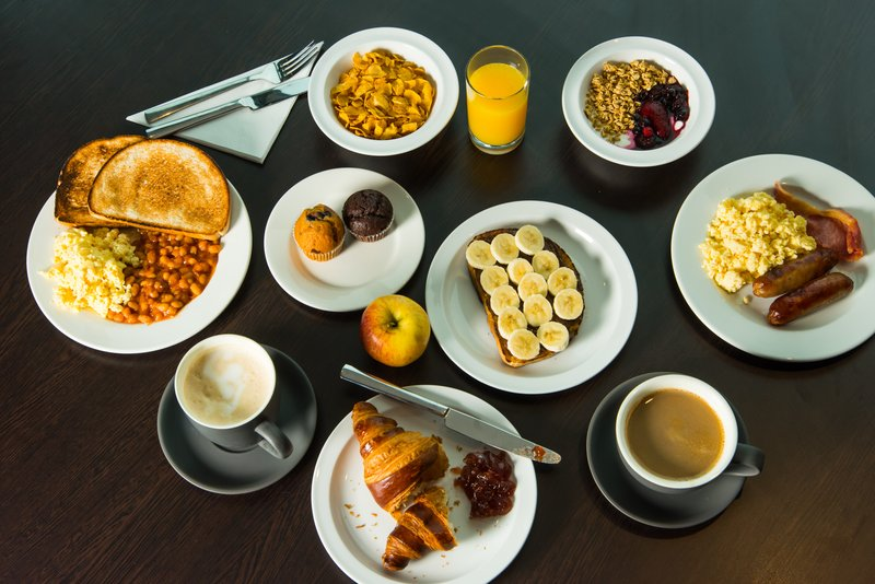 Holiday Inn Express Derby - Pride Park-Help yourself to breakfast, it's included in every stay<br/>Image from Leonardo