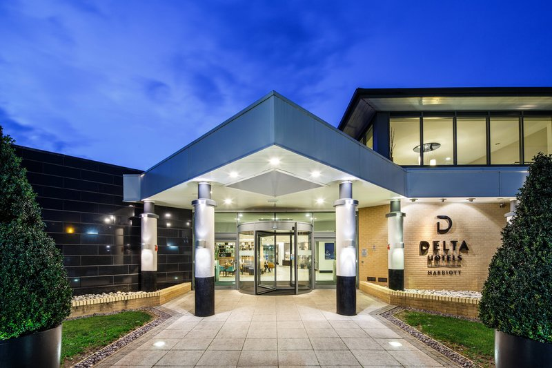 Delta Hotels Nottingham-Entrance<br/>Image from Leonardo