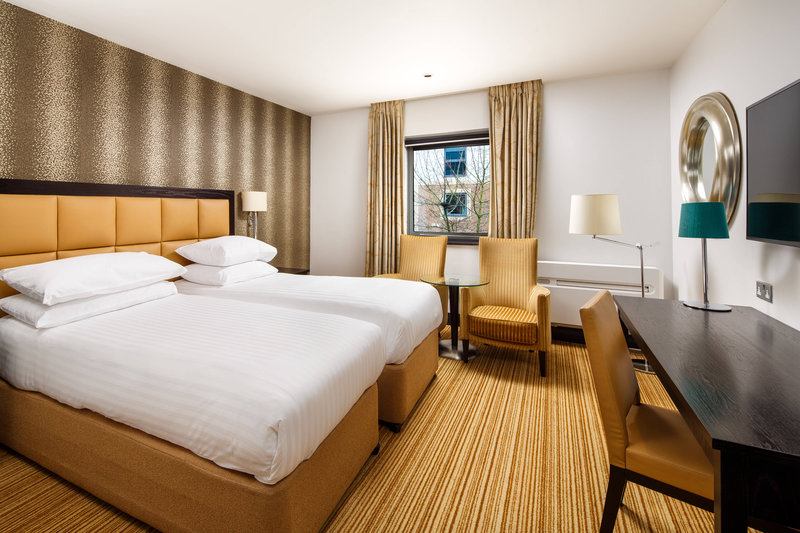 Delta Hotels Nottingham-Twin/Twin Guest Room<br/>Image from Leonardo
