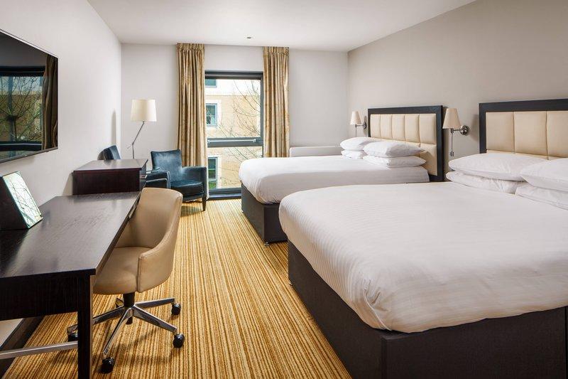 Delta Hotels Nottingham-Double/Double Deluxe Guest Room<br/>Image from Leonardo