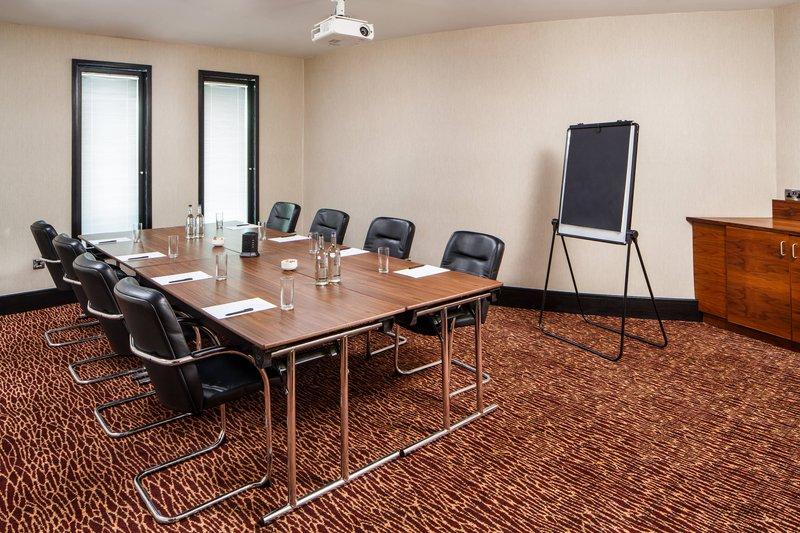 Delta Hotels Nottingham-Chatterley's 1 Room - Boardroom Setup<br/>Image from Leonardo