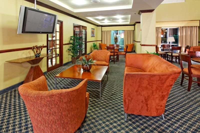 Holiday Inn Express Hotel & Suites Trincity Trinidad Airport-Guest Lounge<br/>Image from Leonardo