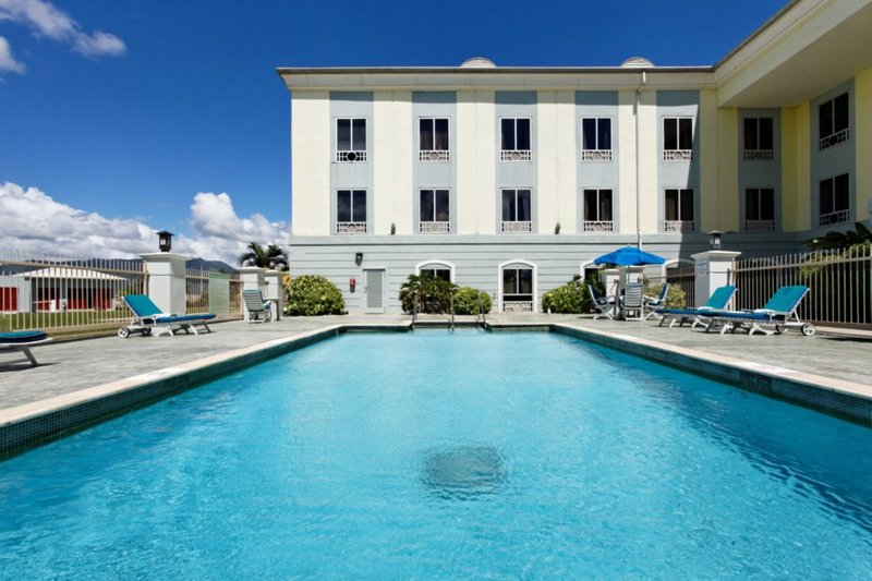 Holiday Inn Express Hotel & Suites Trincity Trinidad Airport-Swimming Pool<br/>Image from Leonardo