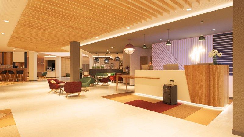 Holiday Inn Mannheim City Hauptbahnhof-Front Desk<br/>Image from Leonardo