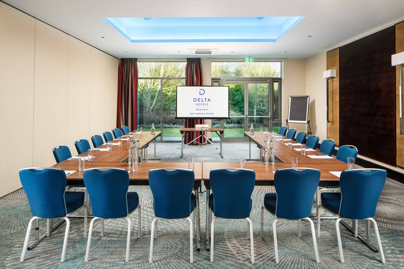 Delta Hotels Nottingham-Montgomery Meeting Room - U-Shape Setup<br/>Image from Leonardo