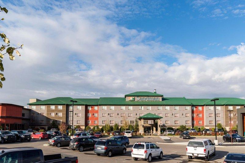 Sandman Hotel Calgary Airport-Exterior<br/>Image from Leonardo