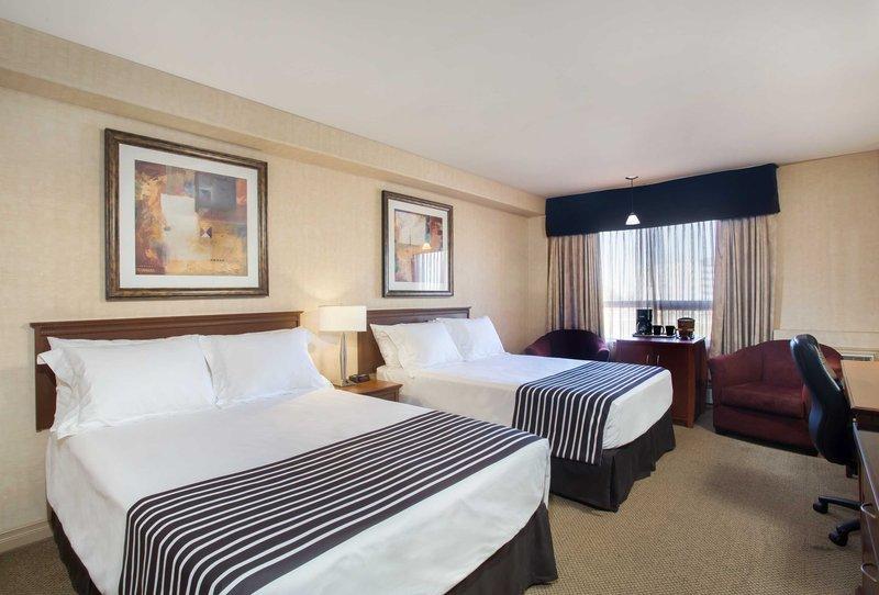 Sandman Hotel Calgary Airport-Standard Two Doubles<br/>Image from Leonardo