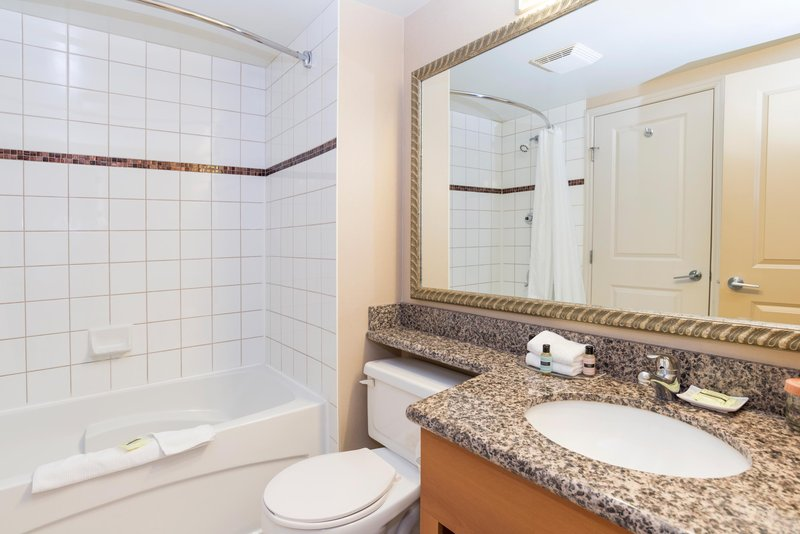 Sandman Hotel Calgary Airport-Executive King Suite Bath<br/>Image from Leonardo