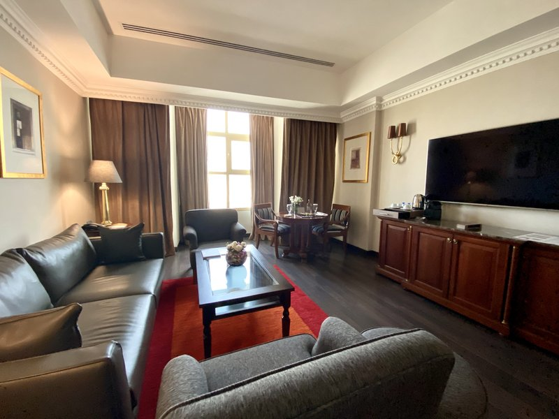 Millennium Doha - Executive Suite Living Room <br/>Image from Leonardo