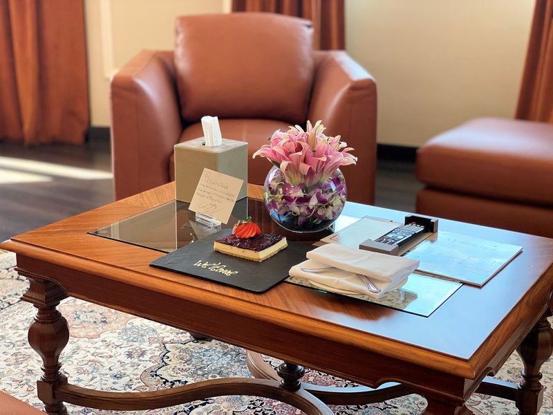 Millennium Doha - Presidential Suite Amenities <br/>Image from Leonardo